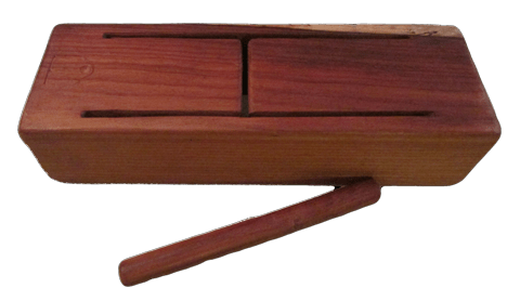 rosewood tongue drum