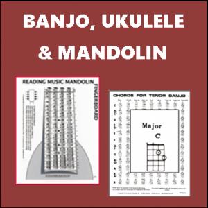 Banjo, Uke and Mandolin