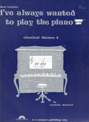 Classical Themes Book 4 Easy Piano