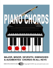 Piano Chords In All Keys E Book