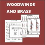 woodwinds brass